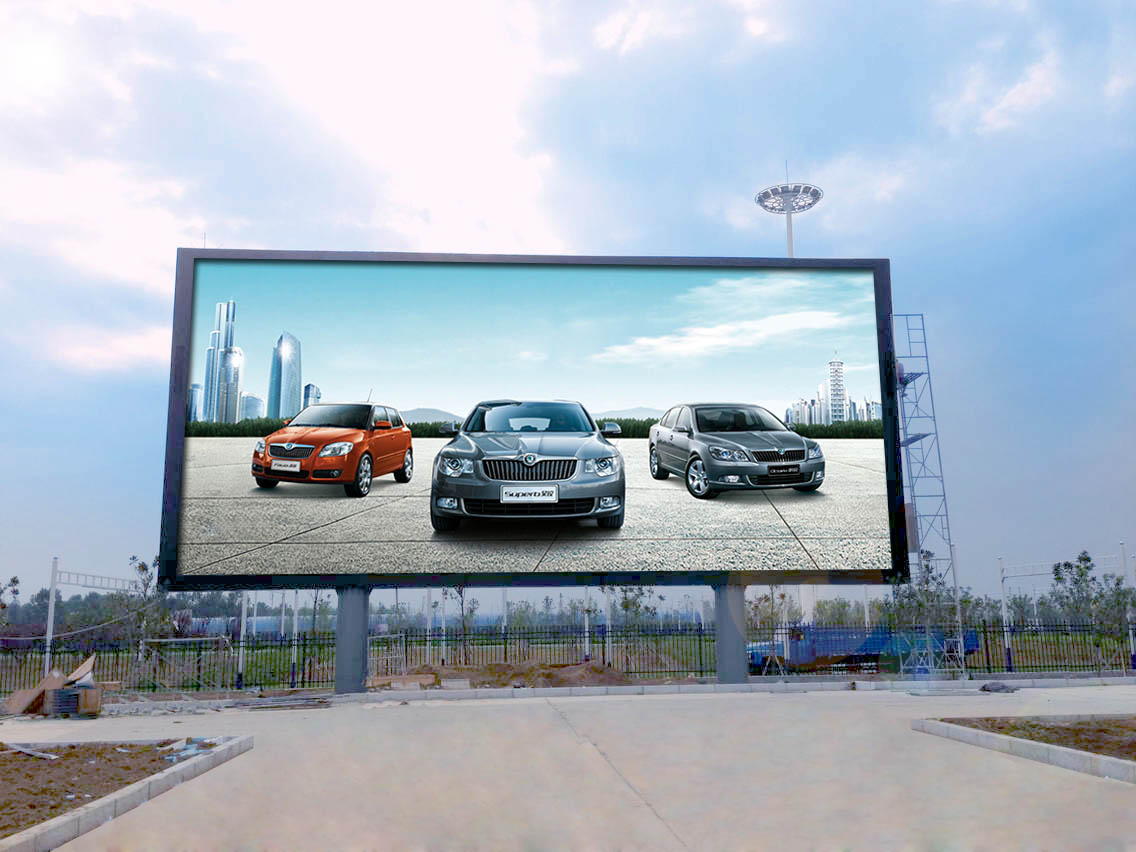 Outdoor Media Curtain Led Display's Solution