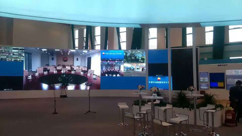 Fine Pitch Led Display - Solution To Police Command System