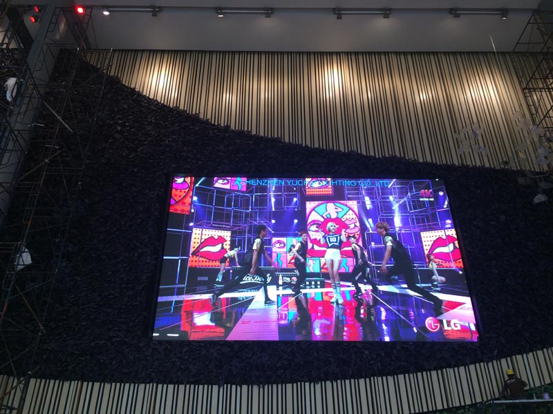 full color video wall led display